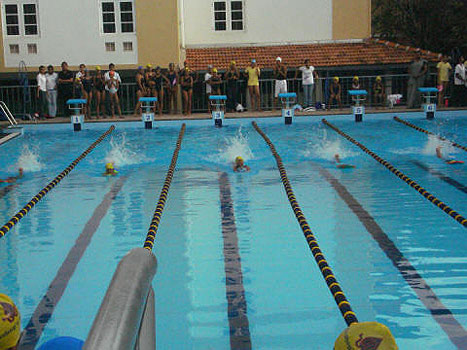 Bishop's College pool
