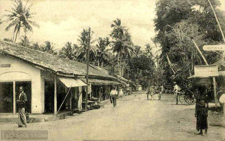 View of Cotta Road near Borella, Colombo 1915